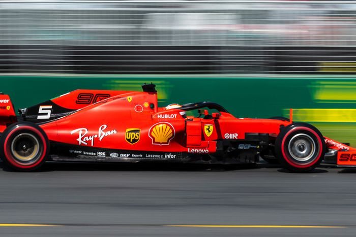 Sebastian Vettel, Scuderia Ferrari, F1 Australia