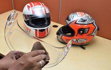 Semudah Ini Cegah Kepala Botak Karena Helm Full Face, Bisa Dipraktikan