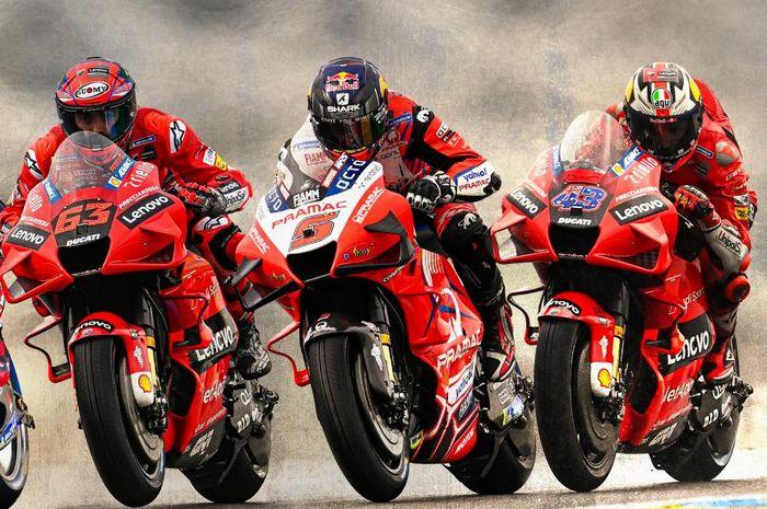Bukan cuma dua, Pabrikan Ducati bertekad kembali turunkan 3 tim satelit pada gelaran MotoGP 2022 mendatang