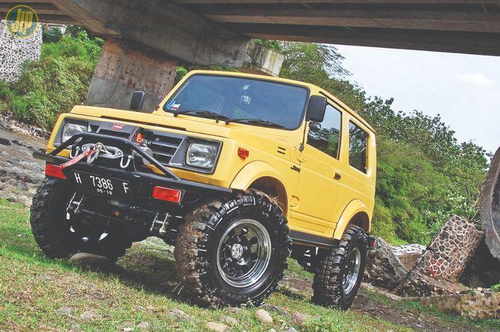 Modifikasi Suzuki Katana