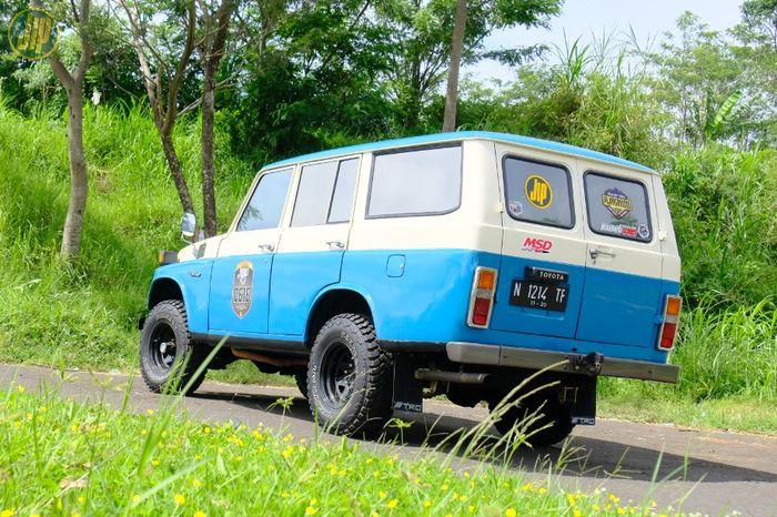Modifikasi Toyota Land Cruiser FJ55 1978