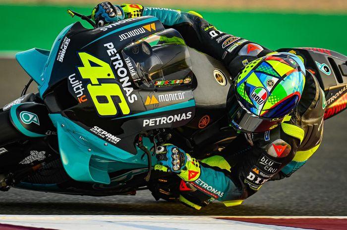 Berhasil tampil konsisten pada hari pertama MotoGP Qatar 2021, Valentino Rossi malah komentar begini