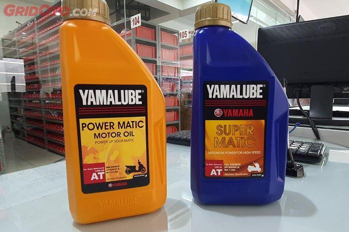 Bedanya oli mesin Yamalube Power Matic dan Super Matic