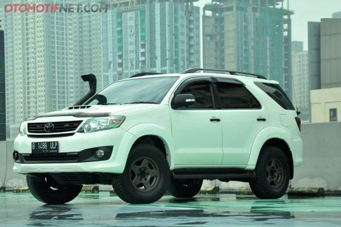 Modifikasi Toyota Fortuner VNT 2014, hobinya jalan-jalan