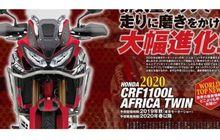 bocor spesifikasi honda crf1100l africa twin 2020, mesinnya makin besar
