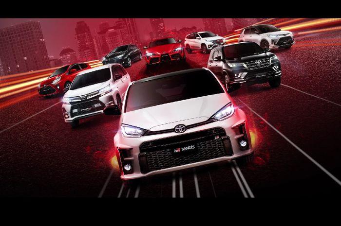 Line up Toyota Gazoo Racing (GR Sport)