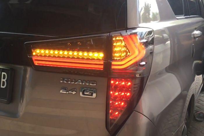Ilustrasi stoplamp model Lexus untuk Toyota Innova Reborn di Automania
