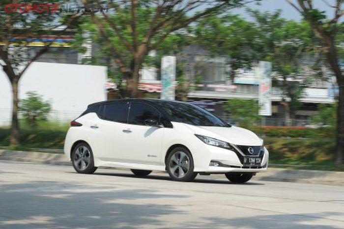 All New Nissan Leaf saat diuji Tim OTOMOTIF
