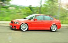 Pengacara Kepincut Modifikasi BMW 318i E46 Jadi Kelewat Keren