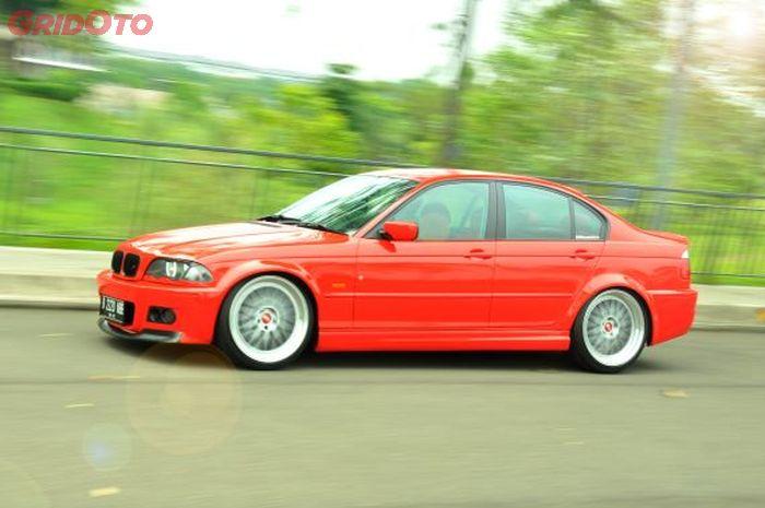Pesan sang pemilik hanya ingin BMW 318i E46 keluaran 2000 miliknya ini terlihat sporty