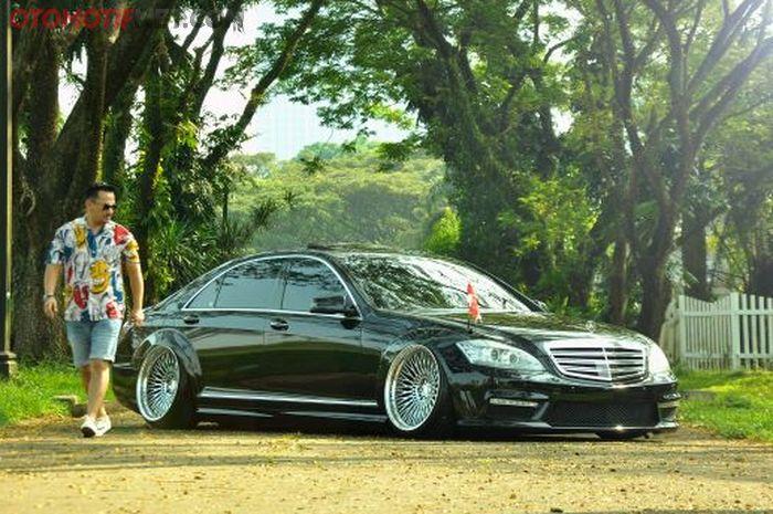 Ini dia mobil negara 'Presiden Stance' ala Kiki Anugraha. Gokil!