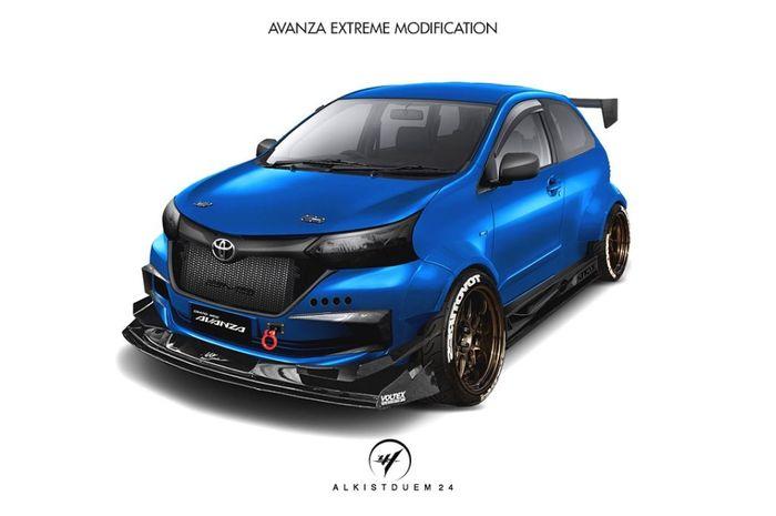 780 Modifikasi Body Mobil Avanza HD