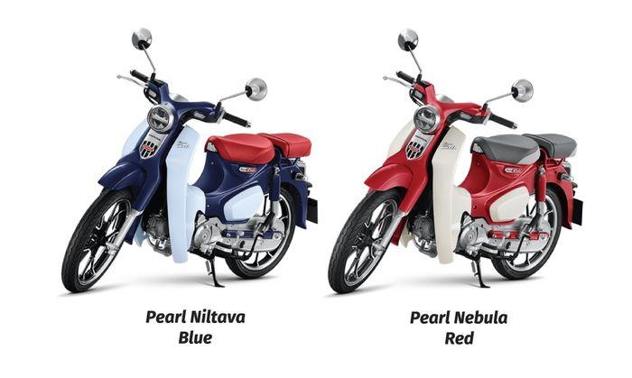 Dua pilihan warna lain Honda Super Cub C125