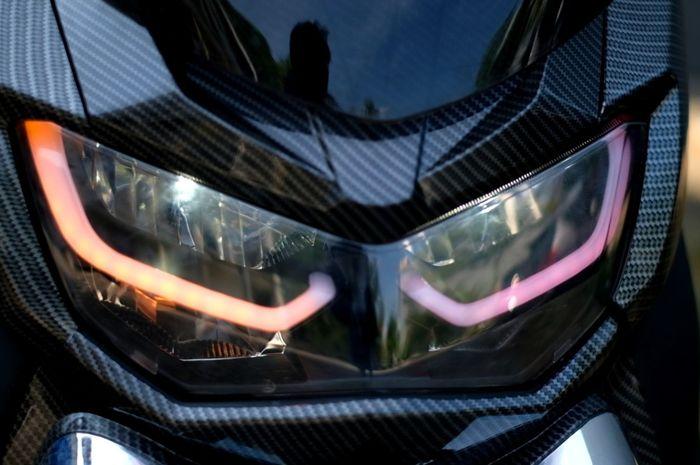 All New Yamaha NMAX makin garang pakai alis lampu dari Nemo