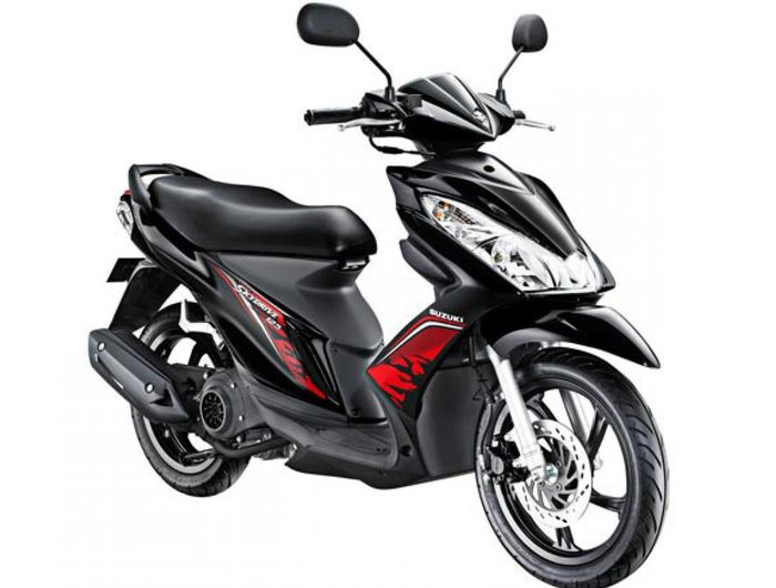 Ilustrasi. Motor matik Suzuki Skydrive