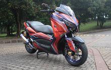 Yamaha XMAX Racing Pakai Jubah Airbrush Siap Bersaing Customaxi 2021
