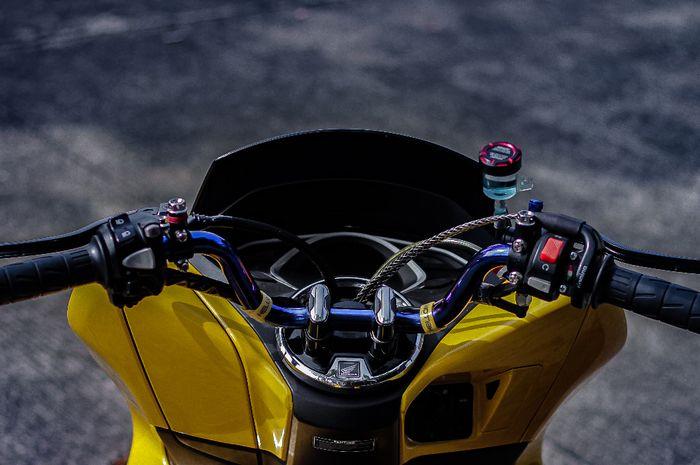 Ilustrasi setang motor