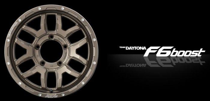 Pelek Rays Team Daytona F6Boost untuk Suzuki Jimny baru