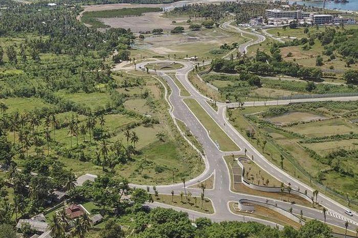 Kondisi Mandalika yang akan dibangun sirkuit International untuk MotoGP 2021