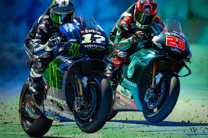 Berbagi garasi di MotoGP 2021, Maverick VInales yakin duetnya dengan Fabio Quartararo bakal bawa dampak positif untuk Yamaha, ini alasannya
