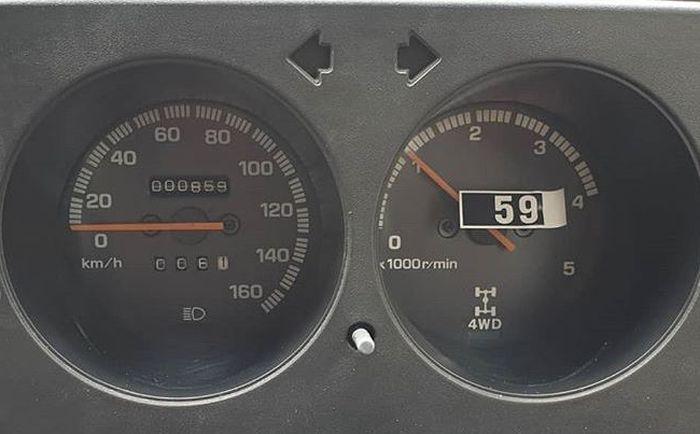 Odometer baru jalan 800 km
