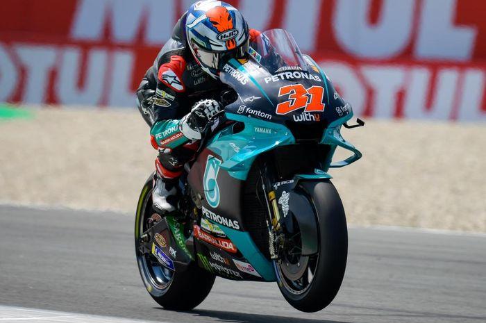 Garrett Gerloff disebut-sebut memiliki kesempatan untuk mengisi slot kosong di Petronas Yamaha SRT di MotoGP 2022