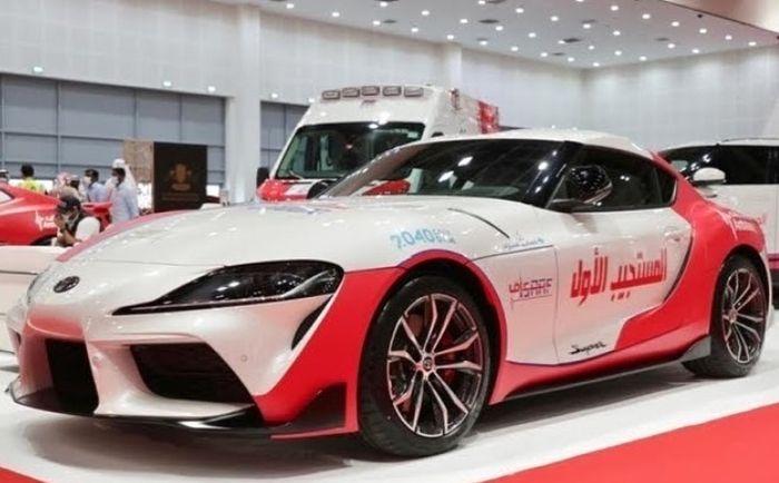 Toyota Supra MK V yang jadi armada ambulans