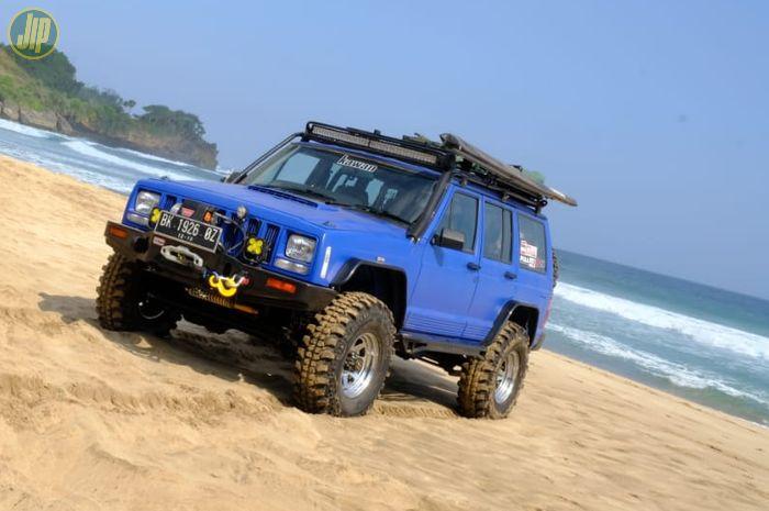 Modifikasi Jeep Cherokee Diesel