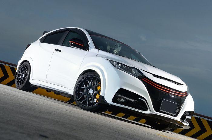 Honda HR-V dibekali dengan body kit custom