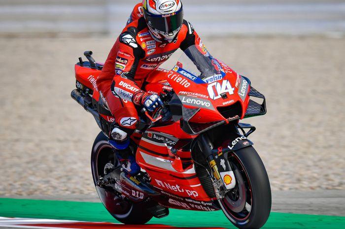 Berselisih di MotoGP Aragon 2020, Andrea Dovizioso akan melakukan hal ini agar berdamai dengan Danilo Petrucci