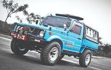 Modifikasi Suzuki Jimny Long Wheel Base Sang Penggarap Bumper Jimny