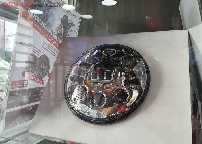 Headlamp LED JW Speaker 8790 dibanderol Rp 18 jutaan, apa kelebihannya ?