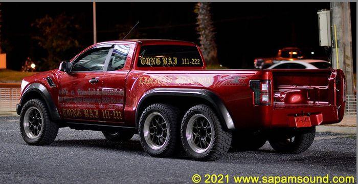 Ford Ranger penggerak 6x6 dan sangar pakai wajah F-150