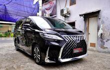 Biaya Tanam Full Set Body Kit Lexus LM Buat Toyota Alphard,Seharga Daihatsu Ayla