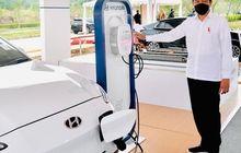 Hyundai dan LG Resmikan Pabrik Baterai, Presiden Jokowi Bilang Begini