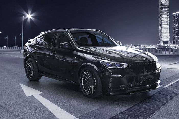 Modifikasi BMW X6 hasil garapan Hamann Motorsport