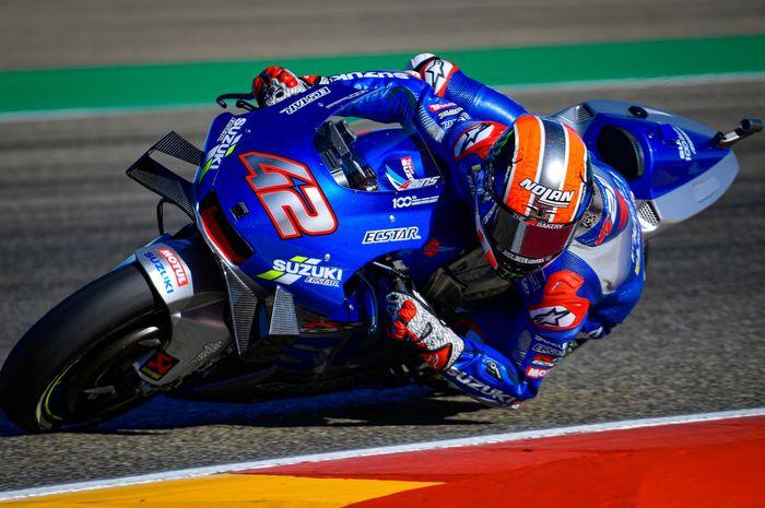 Start baris terdepan di MotoGP Teruel 2020, Alex Rins ucapkan terima kasih ke Fabio Quartararo karena hal ini