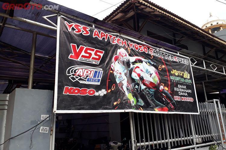 Contoh Spanduk Bengkel Motor Racing - kumpulan gambar spanduk