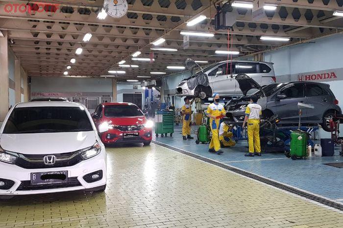 Bengkel Resmi Honda Permata Hijau, Jakarta Selatan