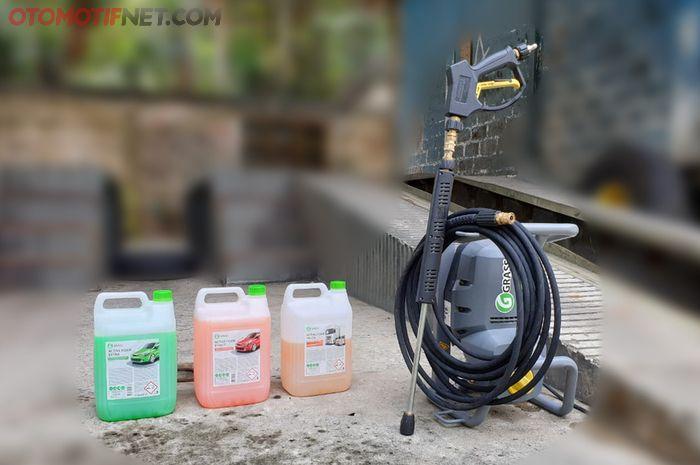 Paket peralatan membuka bengkel cuci dari GRASS Indonesia