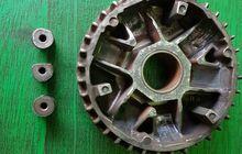 catat! ini dua penyebab utama roller peyang pada cvt motor matic