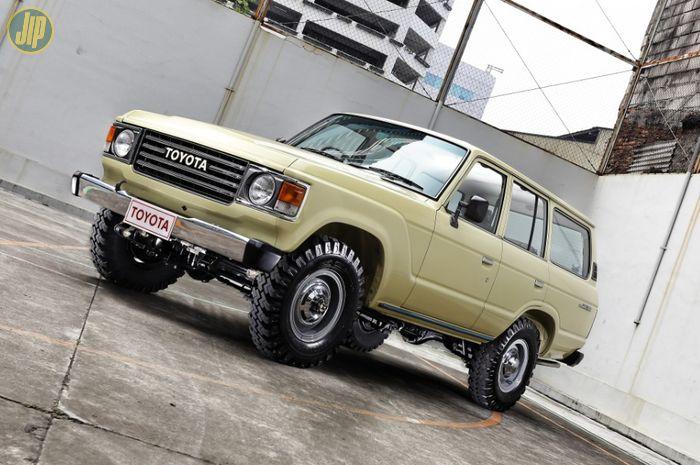 Restorasi Toyota Land Cruiser FJ60 1981