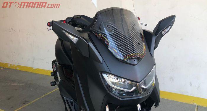 All New Yamaha NMAX, Posisi Spion Pindah Ke Depan