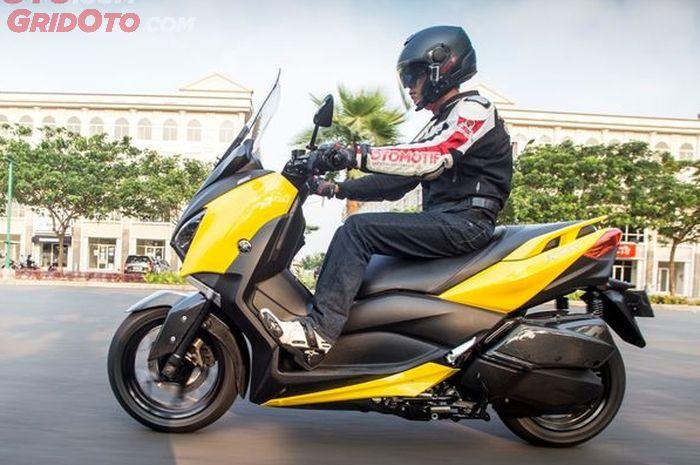 Yamaha XMAX ngebung atau engga stabil saat lewat sambungan jalan ? dari sini asalnya