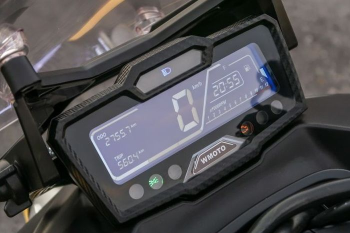 Panel instrumen digital LCD WMoto Xtreme 150i