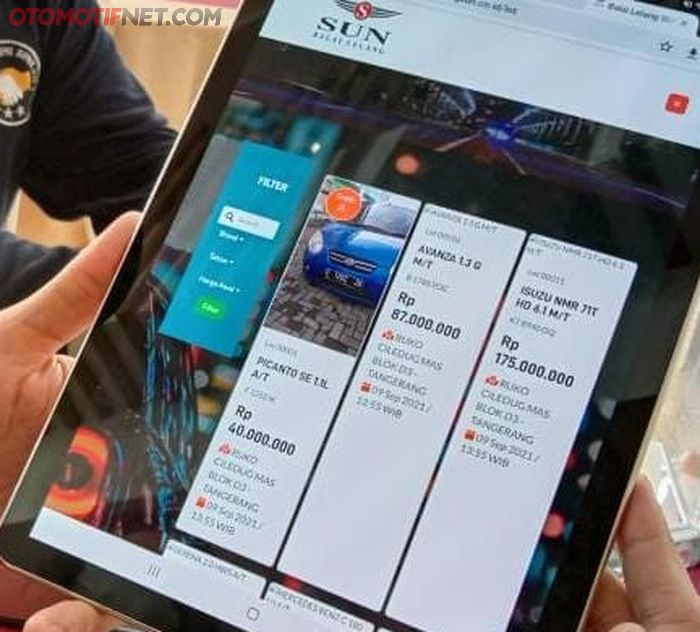 Soft Launching Digital Online Bidding, bidding bisa lewat gadget