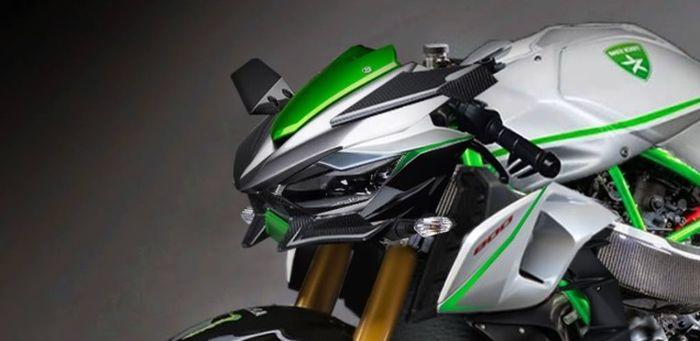 Kawasaki Ninja H2R Versi Naked, Kok Jadi Mirip Sama Z1000