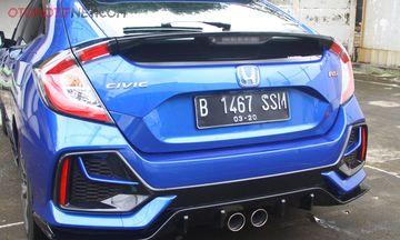 Test Drive New Honda Civic Hatchback Rs Konsumsi Bbm Hingga Akselarasi Semua Halaman Gridoto Com