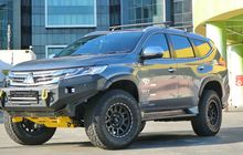 Mitsubishi Pajero Dakar Gagah Secara Instan, Pakai Komponen PnP