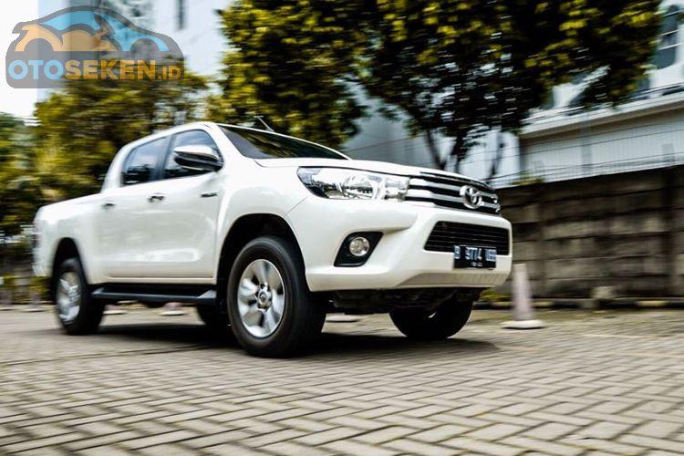 Daftar Terbaru Toyota Hilux Double Cabin 2011 Juni 2020 New Vnt G M T Dijual Segini Gridoto Com